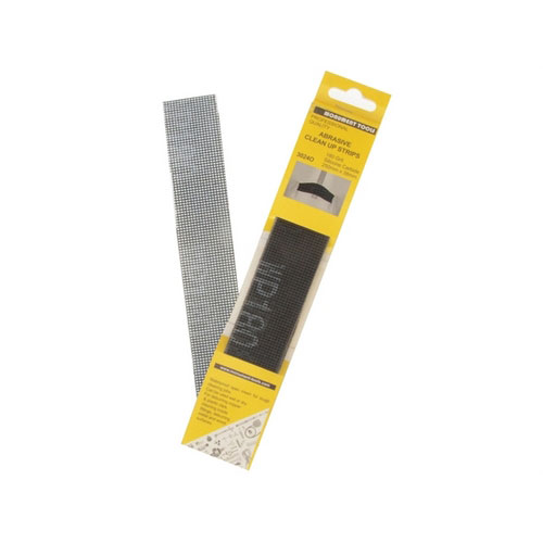 Monument 3024O Abrasive Clean Up Strips Pack Of 10